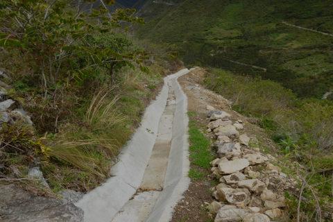ESTABILIDAD DE TALUDES CANAL DE CONDUCCIÓN DE LA C. H. HUASAHUASI